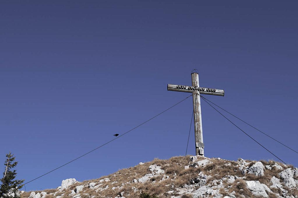 Gipfelkreuz!