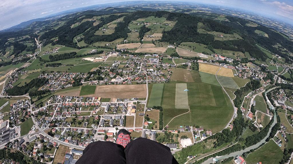 Wind über Scharnstein